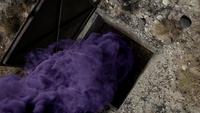 6x07 trappe fumée violette souterrain