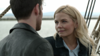 7x02 Emma Swan Killian Jones Jolly Roger inquiétude bouteille