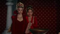 W1x11 Anastasia Reine Rouge Cora Reine de Cœur leçon magie