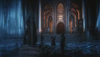 3x22 Palais sombre Blanche-Neige Méchante Reine Regina exécution