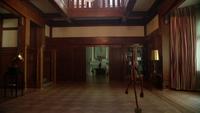 4x11 Manoir du Sorcier maison pièce principale salle de balle hall balai magique
