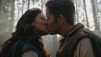 4x17 Marianne Robin de Locksley des Bois baiser
