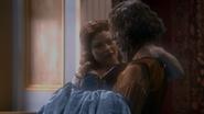 1x12 Belle Rumplestiltskin sauvée regard sourire