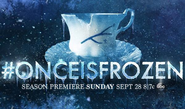 Promo Once is Frozen Belle Chiped Cup S4
