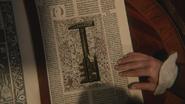 3x15 clé caveau du Ténébreux livre cachette secrète pages