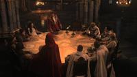 1x01 Conseil de Guerre Prince Charmant Blanche-Neige contre Méchante Reine Regina