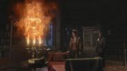 3x15 Lumière Belle Neal Cassidy rencontre bibliothèque château des Ténèbres