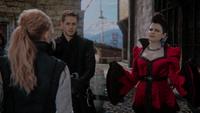 Emma Méchante Reine Blanche-Neige Prince David quais explications 4x22