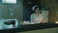 4x20 infirmière Ratched bureau accueil hôpital asile service psychiatrique