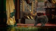 5x16 Toto cordes rideaux intervention loge Grand Magicien d'Oz palais d'Émeraude