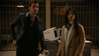 6x10 Killian Jones Jasmine poste de police attente David retard