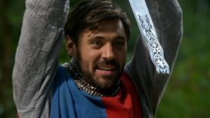 5x01 Roi Arthur Excalibur incomplète embout pointe manquante