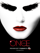 Once Upon a Time season saison 5 Dark Swan teaser poster affiche Comic-Con