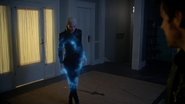5x08 Emma Swan Cygne Noir Killian Jones immobilisation encre de seiche