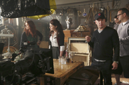 3x07 Photo tournage 1