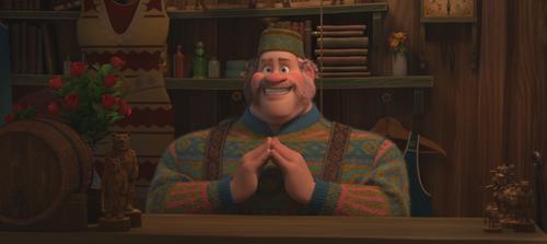 La Reine des Neiges (Disney) Oaken section hiver
