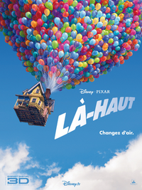 Là-Haut Up Disney Pixar 2010 affiche poster