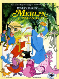 Merlin l'Enchanteur The Sword in the Stone Disney 1963 affiche poster