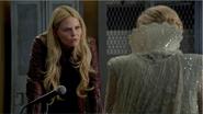 4x07 Emma Swan Ingrid Reine des Glaces bureau du shérif interrogatoire questions Sortilège des Mille Eclats