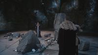 4x16 Maléfique Prince David Charmant Blanche-Neige grotte caverne