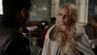 5x06 Merlin Emma Swan Café Granny discussion Excalibur prophétie