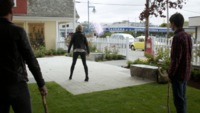 6x03 Emma Swan chaussure magie charme de localisation Killian Jones Henry Mills épées de bois recherche Ashley Boyd