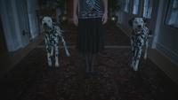4x18 Cruella d'Enfer dalmatiens don de persuasion attaque meurtre