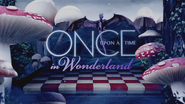 Once Upon a Time in Wonderland logo titlecard générique épisode W1x07