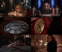 5x12 1x01 parallèles similitudes références Regina Mills Henry Mills sourire horloge 8h16 anniversaire Emma Swan gâteau bougie Reine Regina