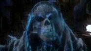 5x21 âme errante perdue squelette crâne tête de mort