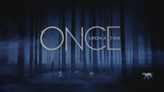 Once Upon a Time logo titlecard générique épisode 4x18