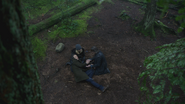3x15 Neal Cassidy Emma Swan M. Gold forêt de Storybrooke mort