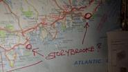 4x19 Carte Atlantique recherche Storybrooke localisation