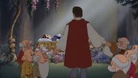 Blanche-Neige et les Sept Nains (Disney) Prince Charmant Prof Simplet Dormeur Atchoum Grincheux Timide Joyeux cercueil de verre Un Chant d'Amour