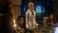 3x20 Zelena Méchante Sorcière de l'Ouest du Nord Cœur d'Oz l'Est Glinda Gentille du Sud innocence courage amour sagesse