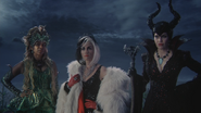 4x11 Rumplestiltskin surnom Reines des Ténèbres Ursula Cruella d'Enfer Maléfique