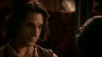 6x05 Aladdin Jasmine marché Agrabah chantage quête diamant