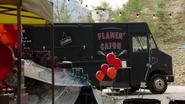 7x12 Flamin' Cajun