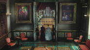 4x11 Elsa Anna marche autel