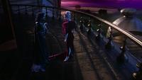 W1x01 Jafar Anastasia Reine Rouge visite balcon tour palais pouvoir domination