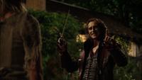 1x04 Ella Cendrillon Rumplestiltskin baguette magique magie prix à payer