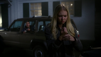 4x05 Emma Swan jeune quitte Lily Lilith Page trahison étoile main