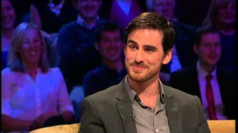 Colin O'Donoghue on playing Captain Hook Saturday Night With Miriam