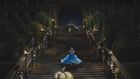 Cendrillon (film) fuite escalier palais Prince Kit mini