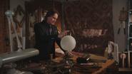 2x12 M. Gold globe magique main boutique d'antiquités