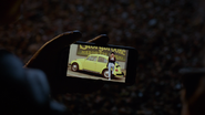 7x14 Robin smartphone photo Storybrooke Paint Voiture jaune