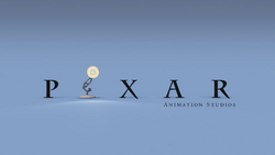 Luxo Jr logo Pixar Animation Studios
