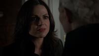5x02 Regina Mills Emma Swan Cygne Noir maison Swan demande furie Saveuse rappel prix magie sauver Robin