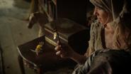 6x03 Gus Cendrillon robe brûlée clé magique Pays des Histoires Secrètes
