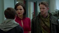 Henry persuade Regina magie blanche Robin des Bois 3x20